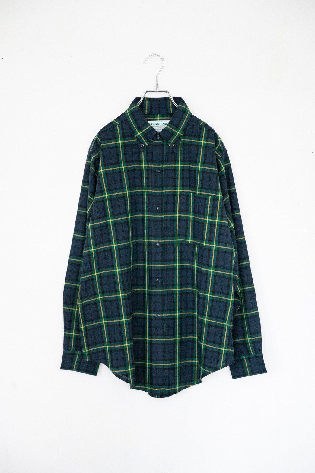 SASSAFRAS / Creen Thumb Shirt GREEN