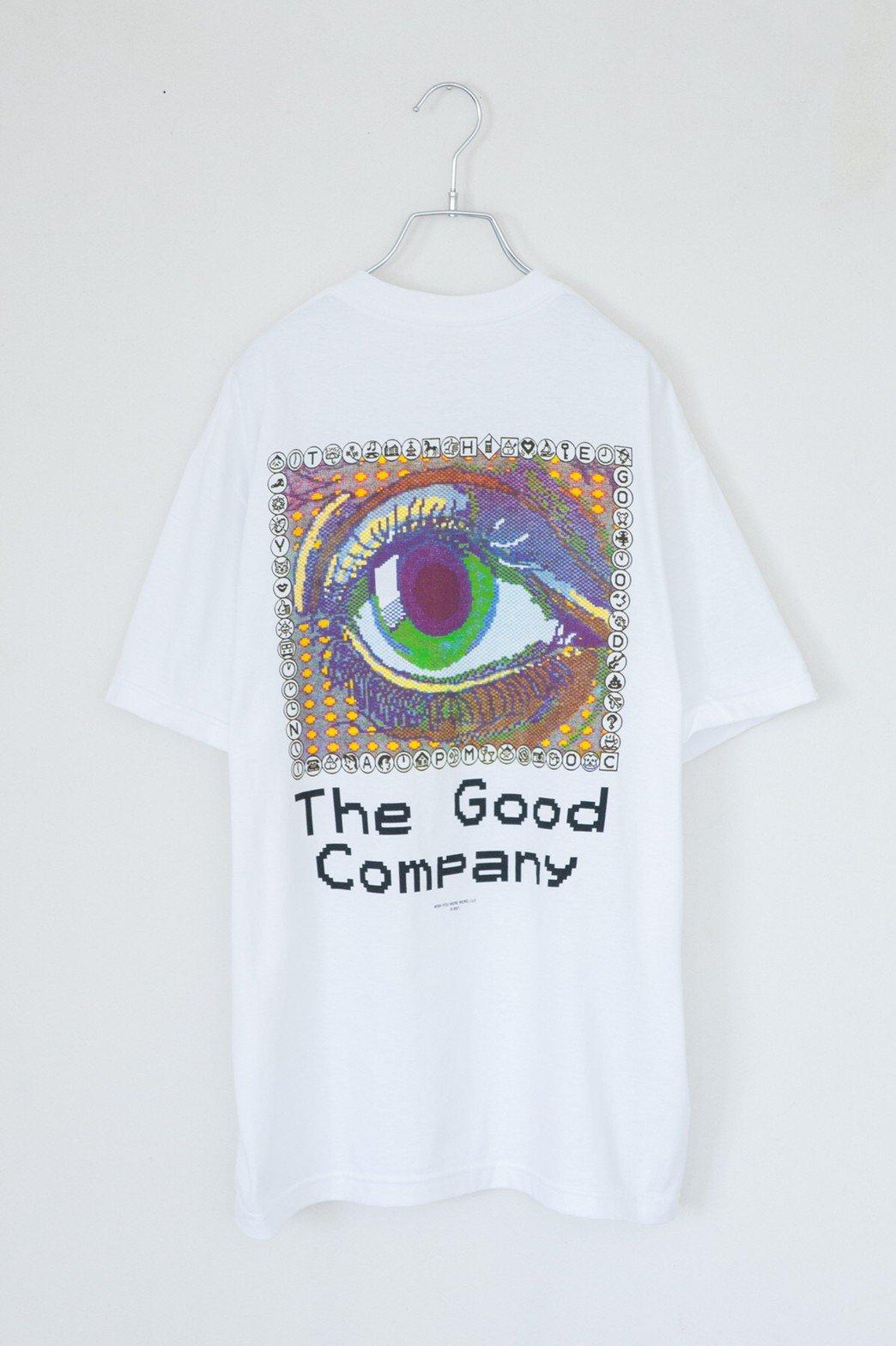 THE GOOD COMPANY / EYE TEE WHITE