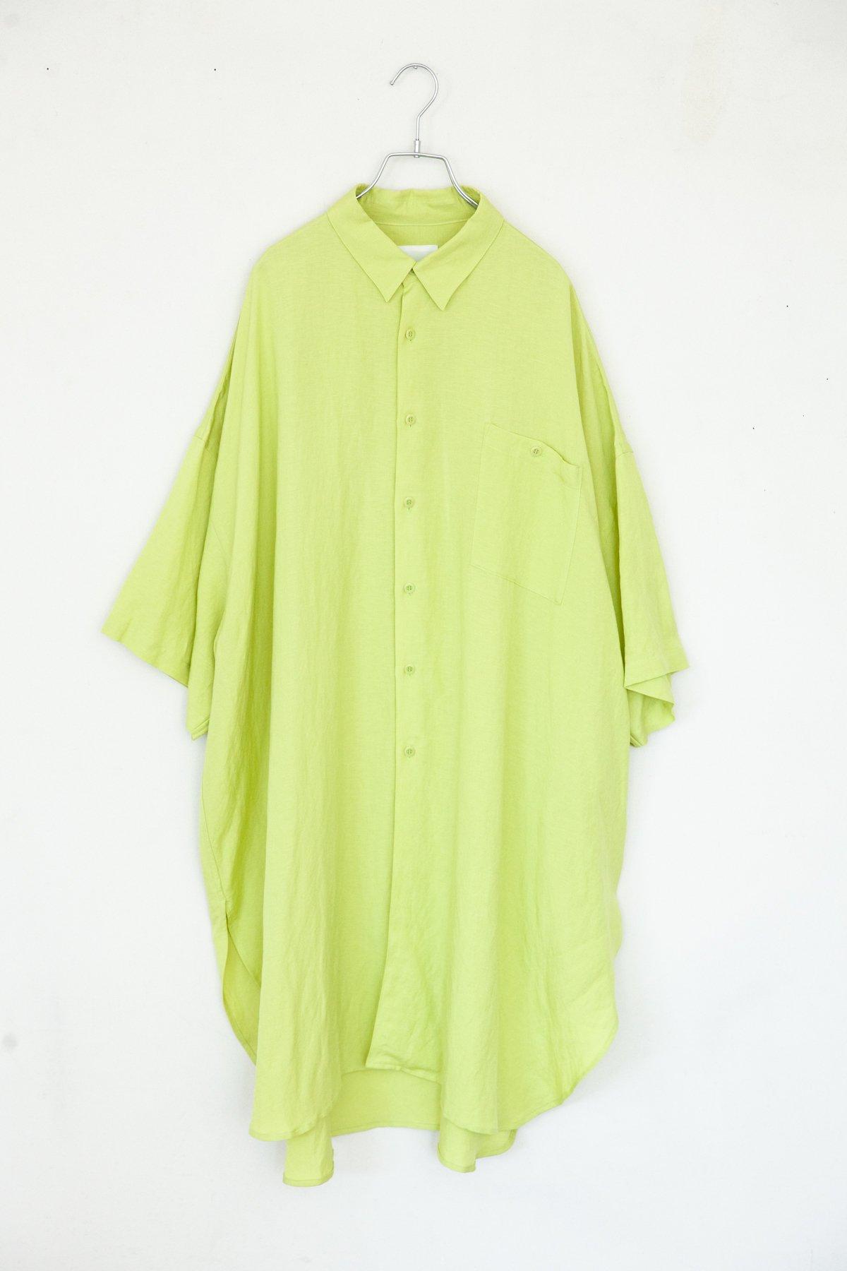 whowhat / 5X SHIRT (SHORT/LONG) LIME GREEN