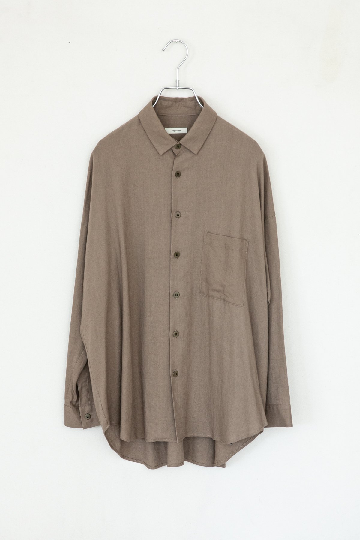 whowhat / WIDE SHIRT