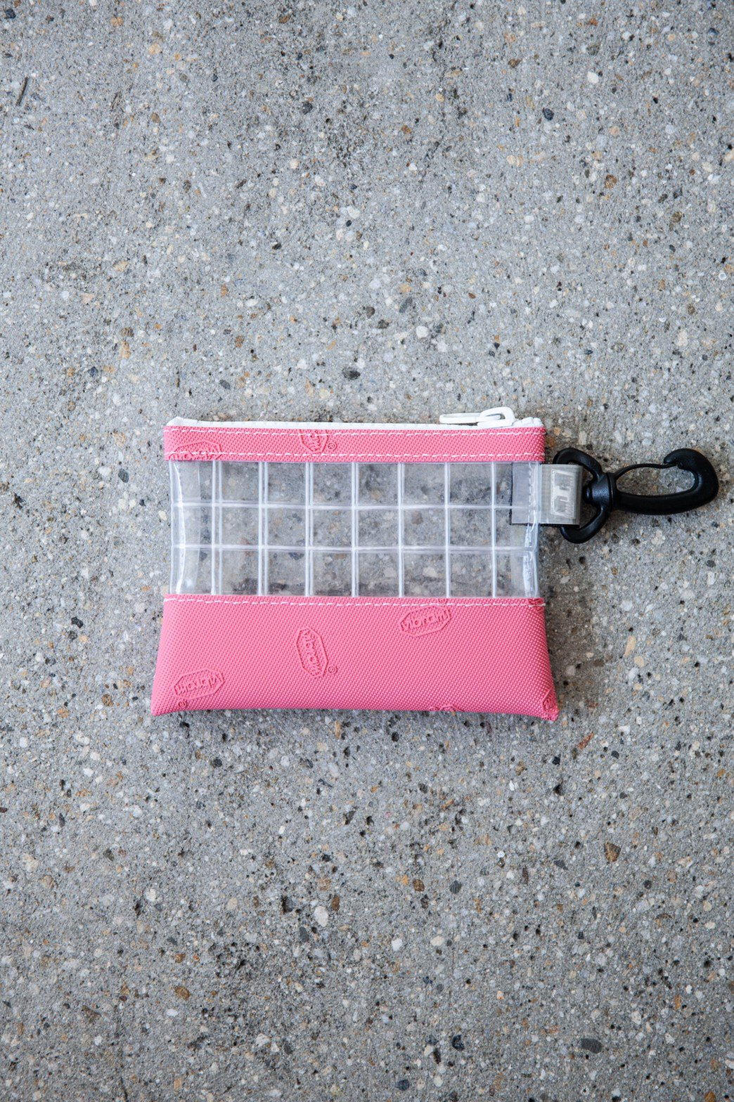 THISWAY / VIBRAM PVC COIN CASE PINK