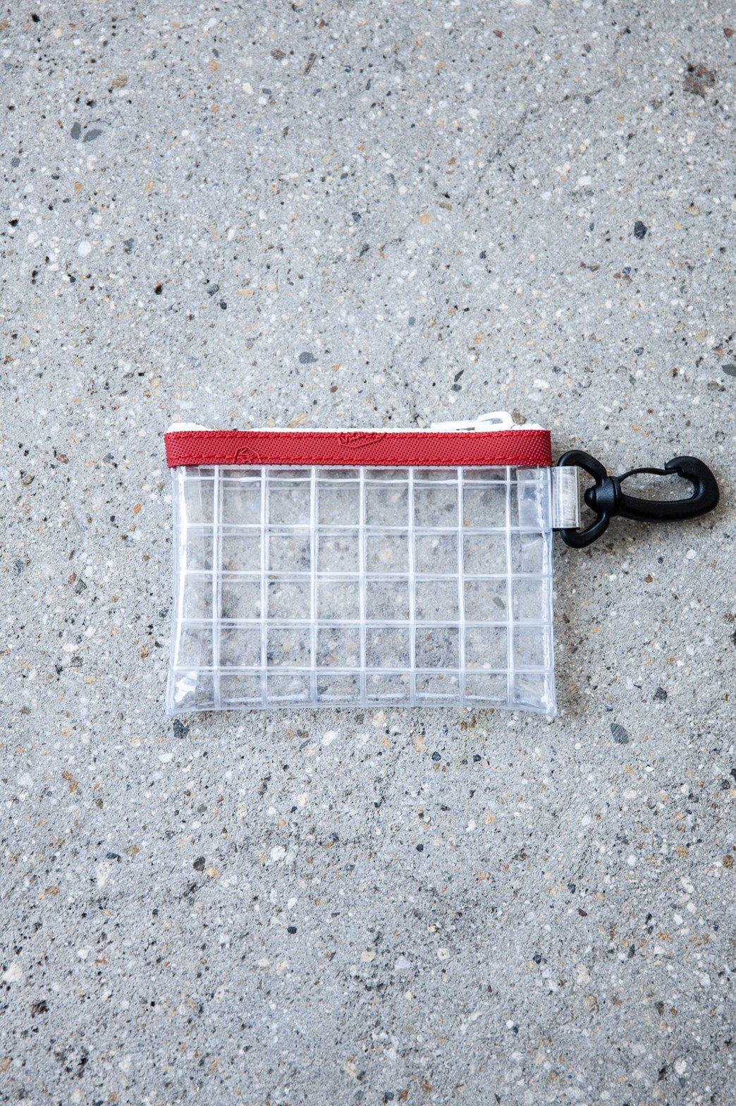 THISWAY / PVC COIN CASE RED