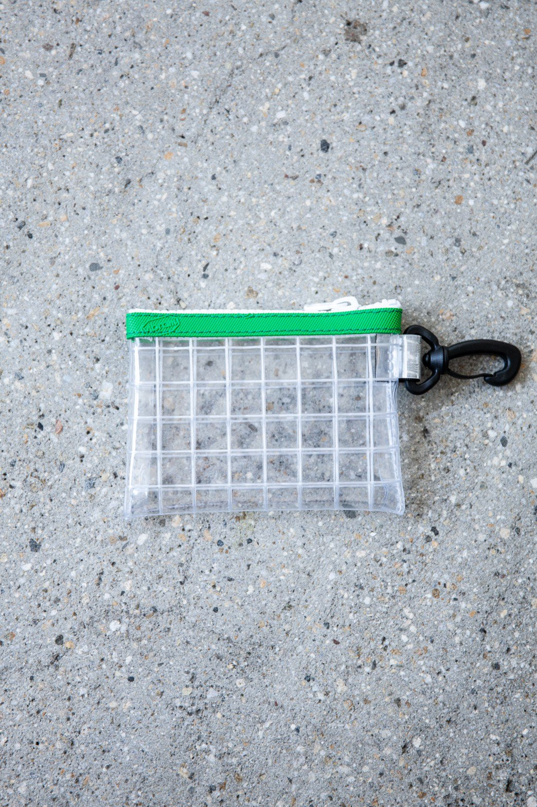 THISWAY / PVC COIN CASE GREEN