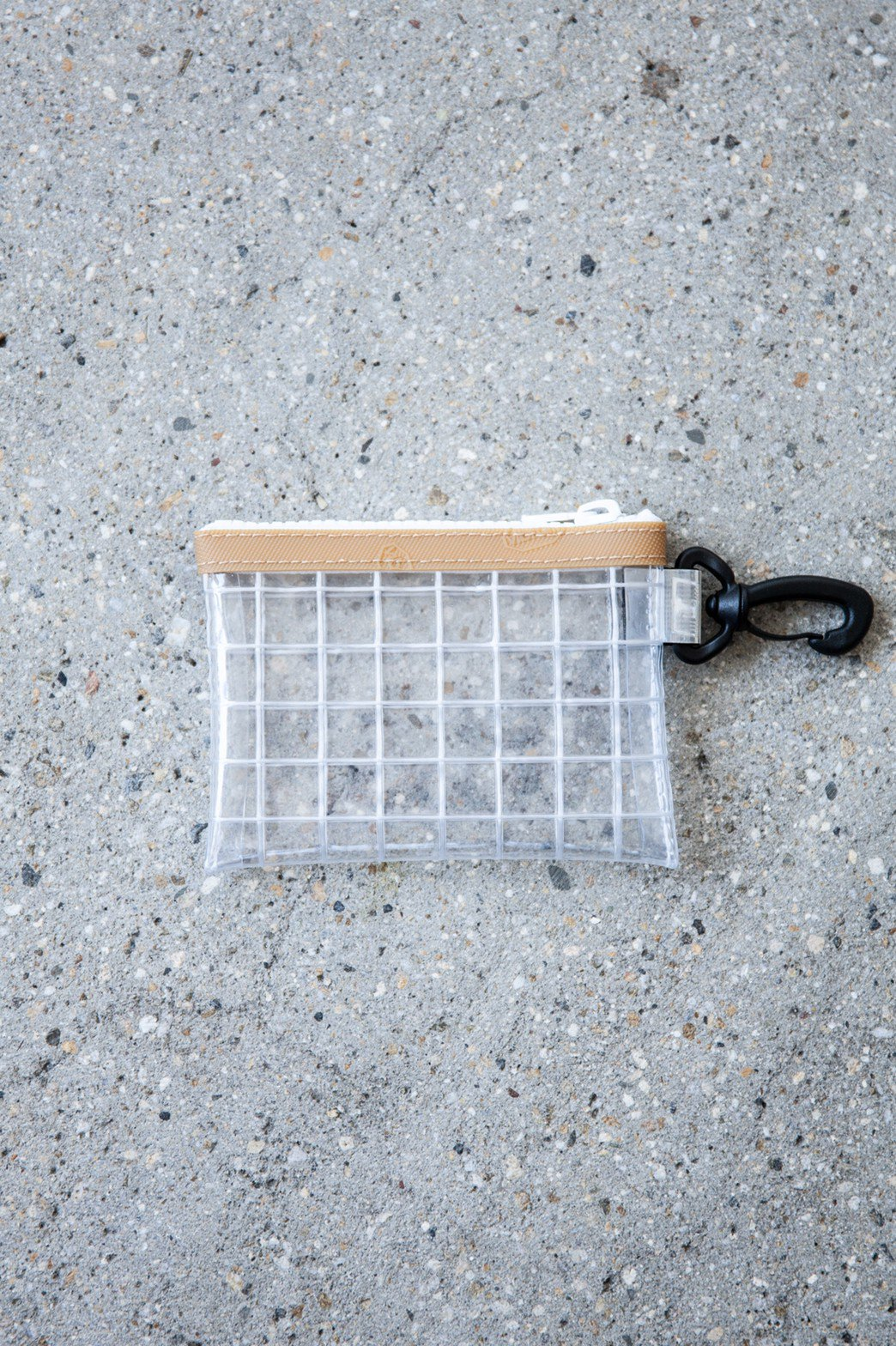 THISWAY / PVC COIN CASE BEIGE