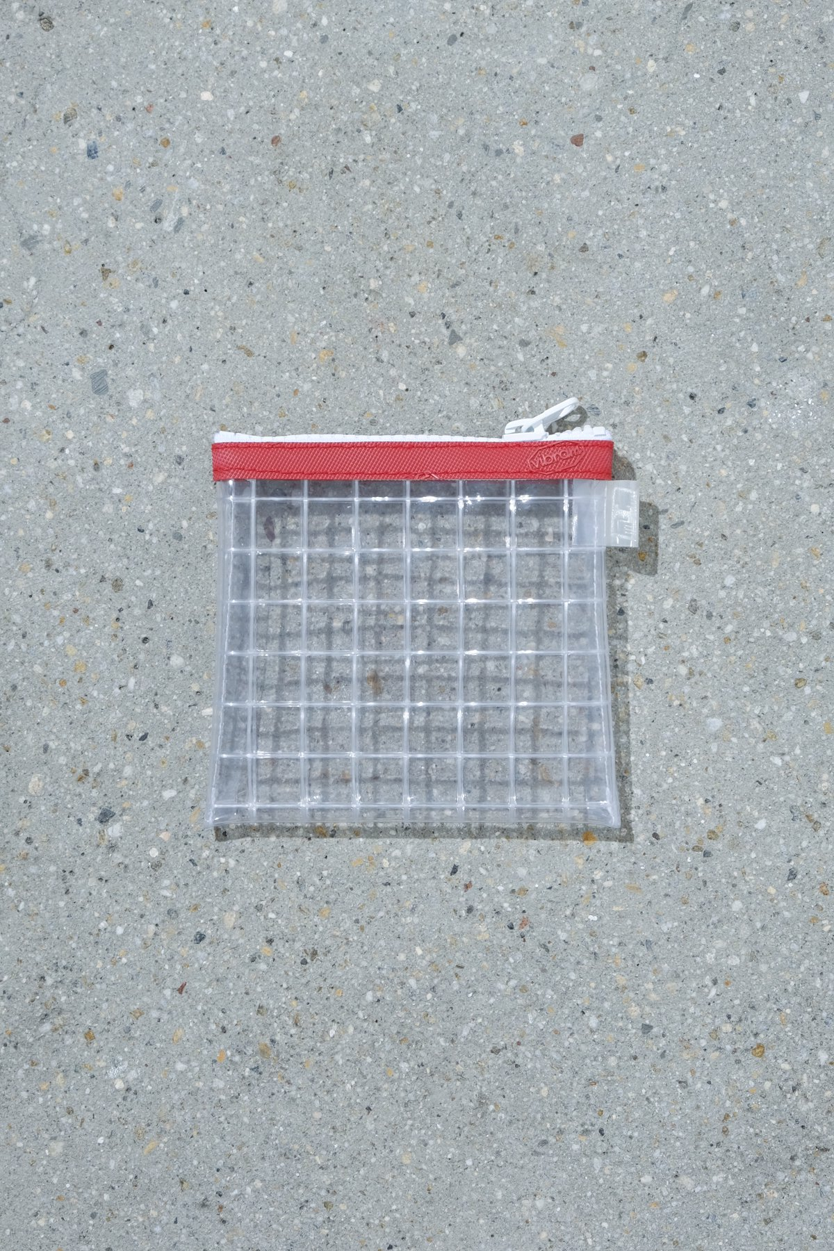 THISWAY / PVC POUCH RED
