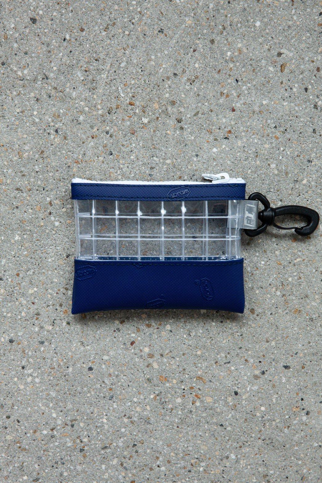 THISWAY / VIBRAM PVC COIN CASE BLUE