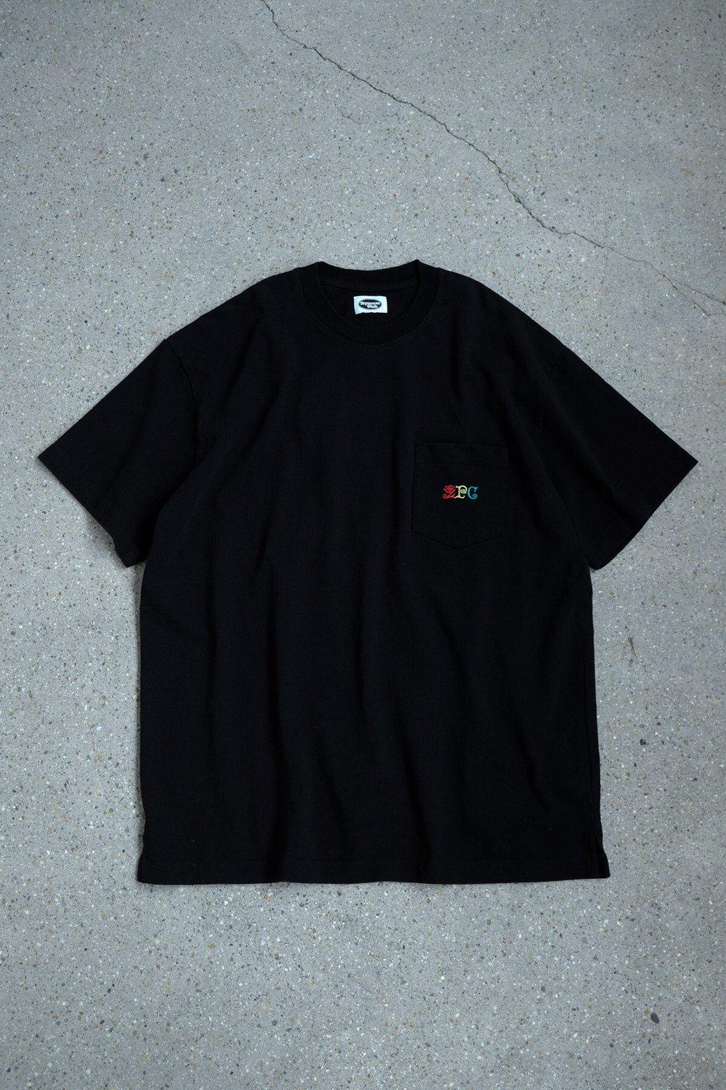 Zepanese Club / 刺繍 SHORT SLEEVE TEE BLACK