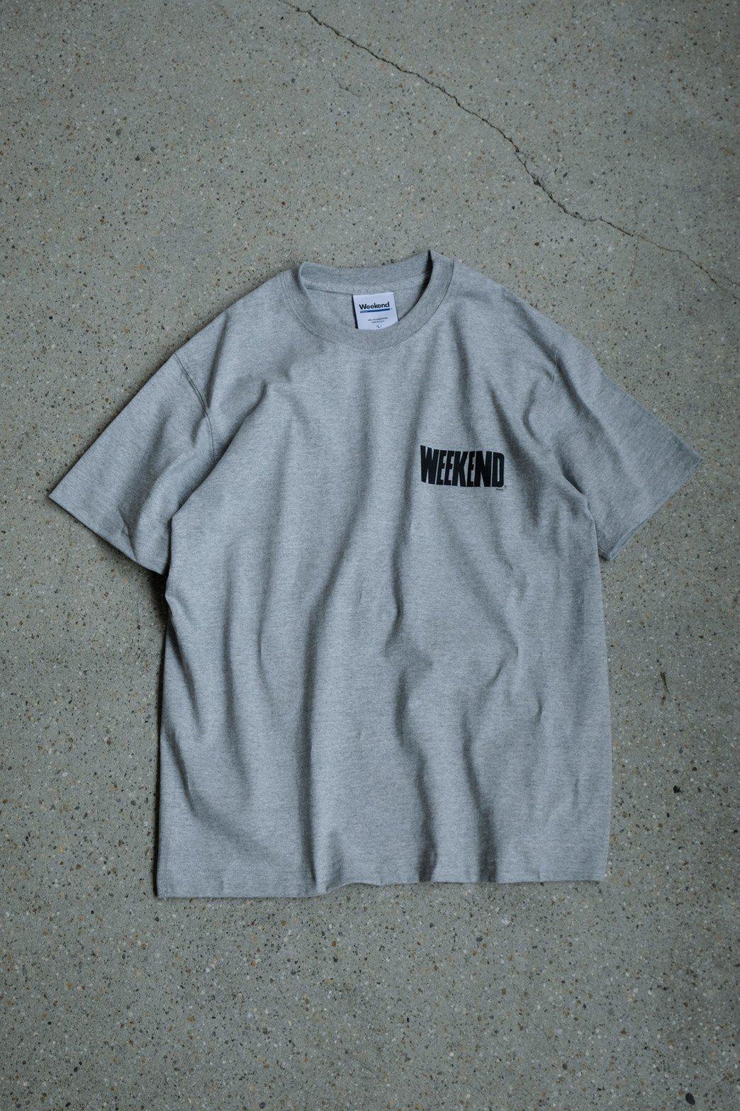 WEEKEND / WEEKEND Magazine T-shirt GRAY