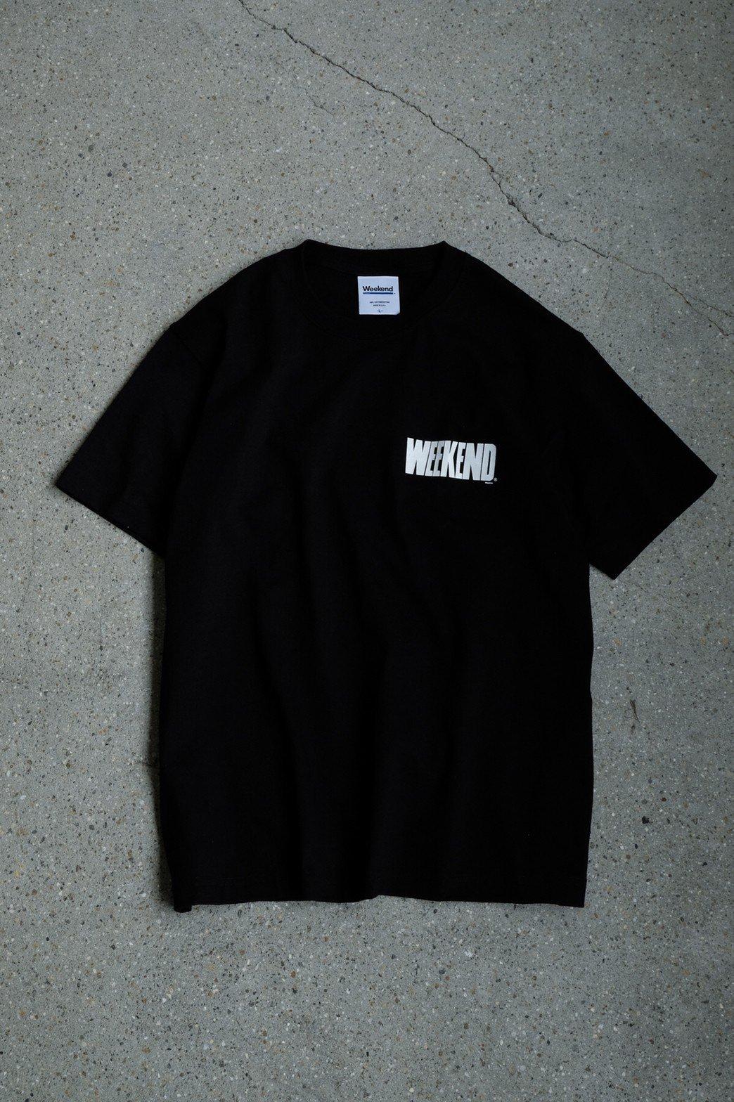 WEEKEND / WEEKEND Magazine T-shirt BLACK
