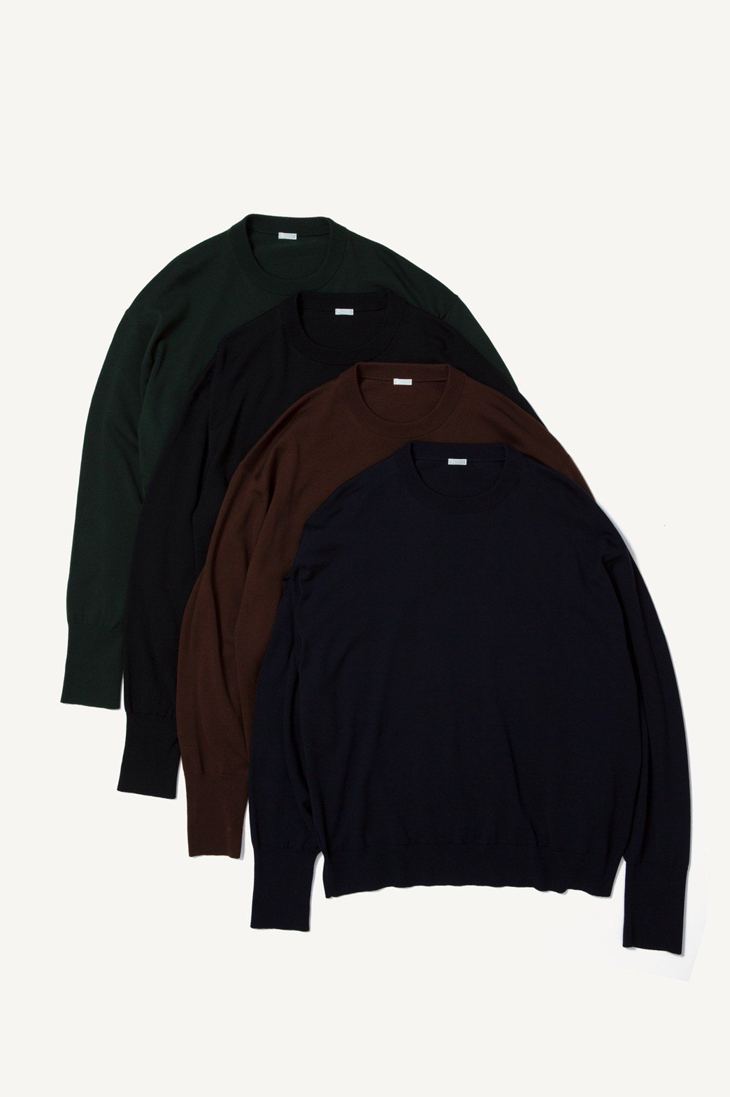 A.PRESSE / LONG SLEEVE Knit T-Shirt