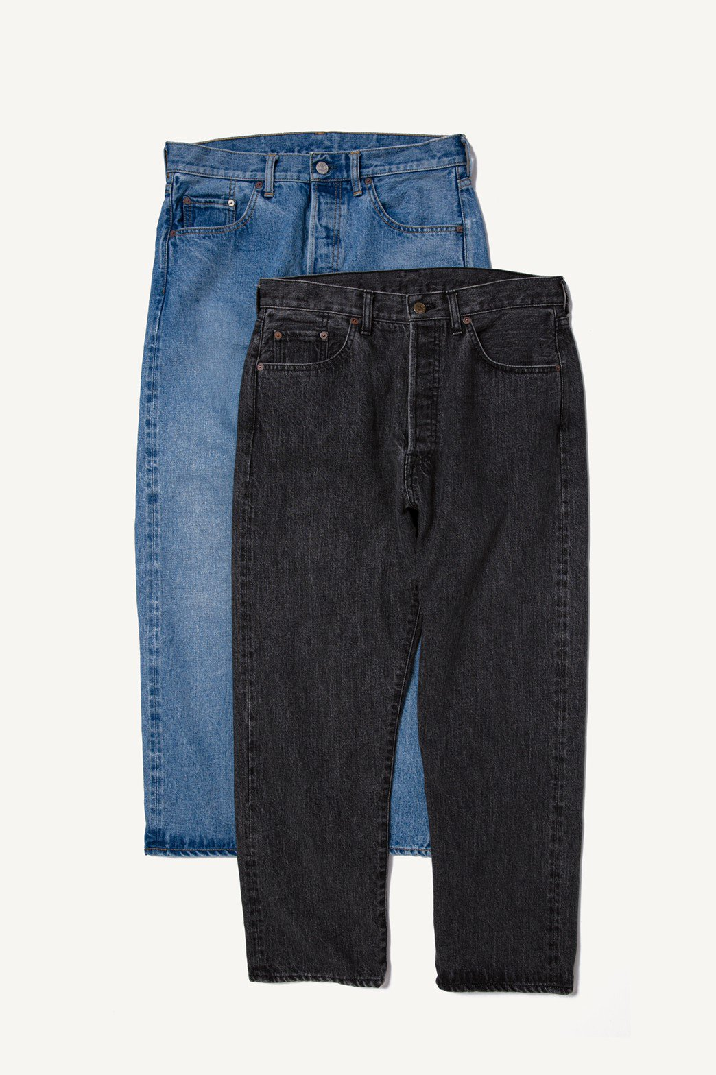 A.PRESSE / Washed Denim Pants