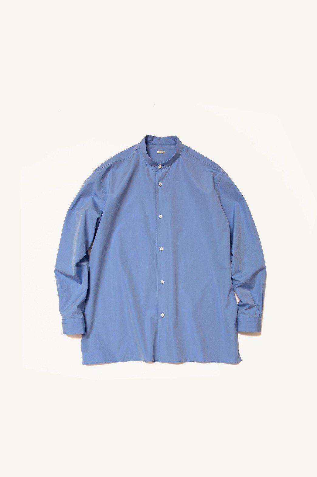A.PRESSE / Band Collar Shirt