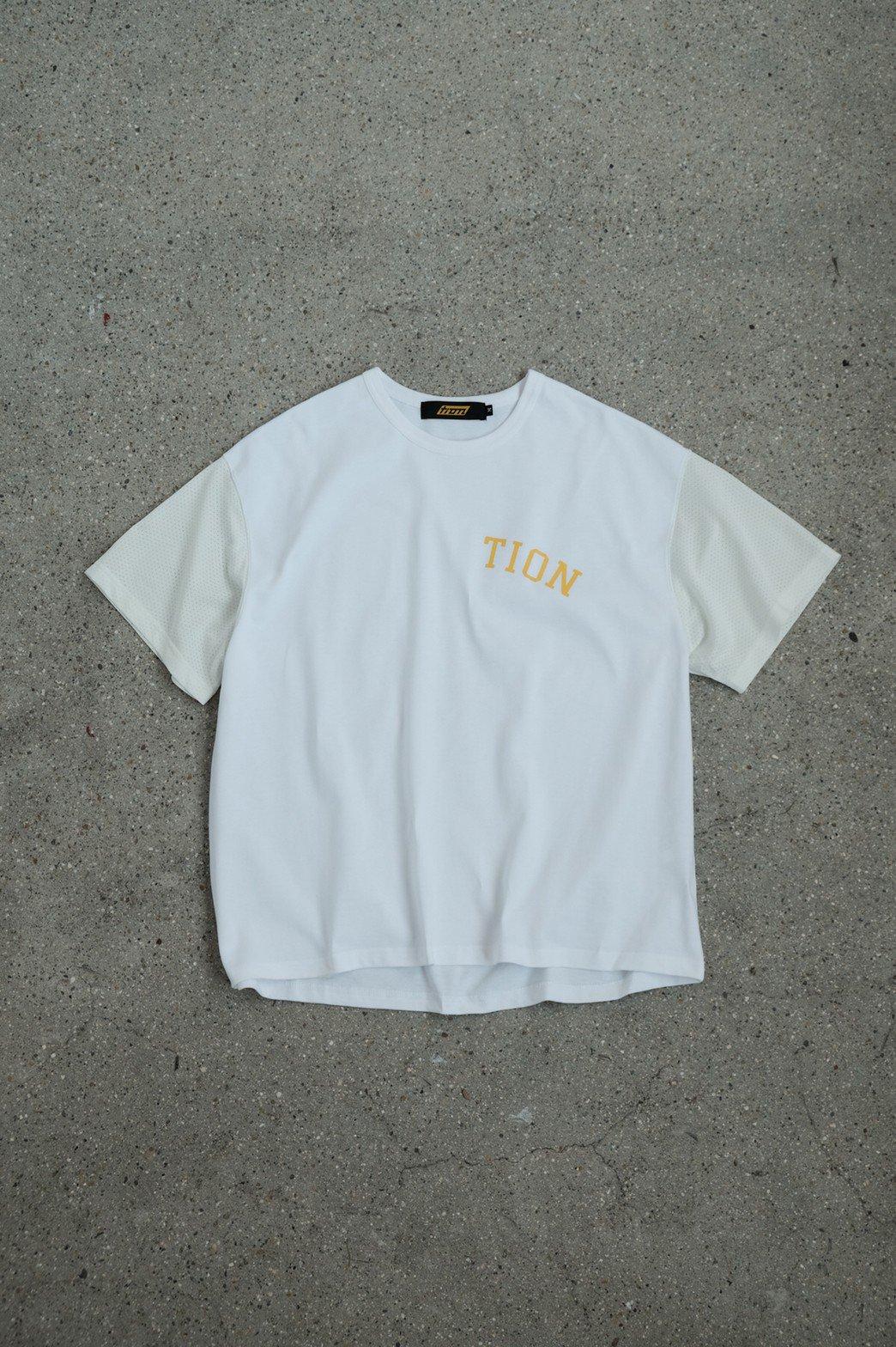 Tion / MOTIVATION TEE WHITE