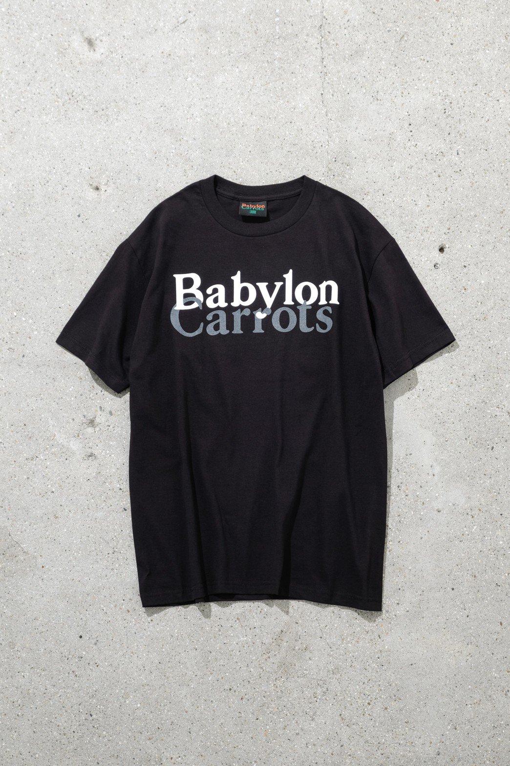 BABYLON x Carrots / STACKED LOGO TEE