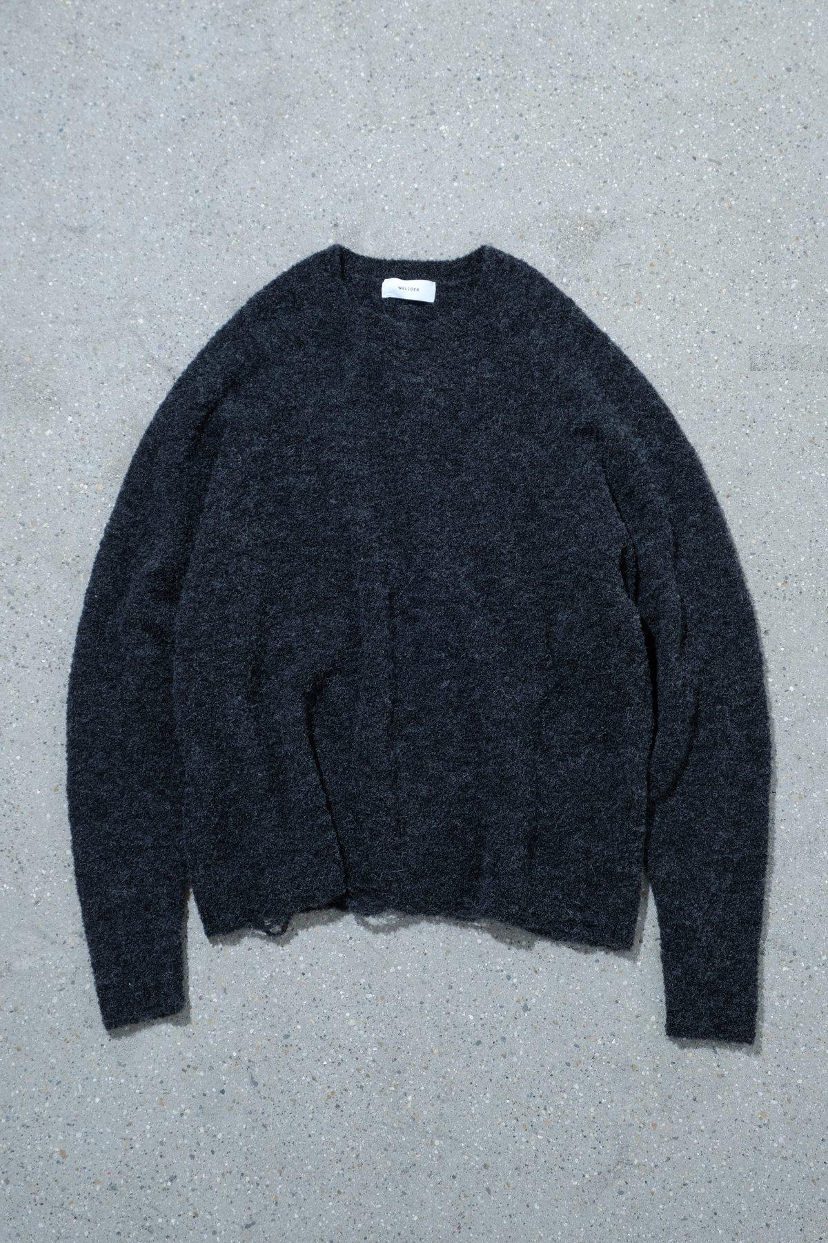 WELLDER / Damage Design Pull Over Knit