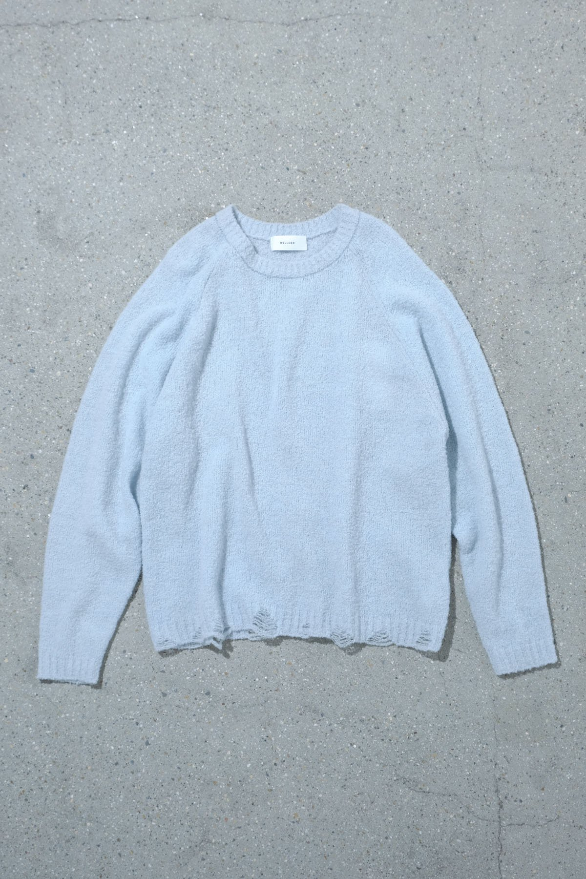 WELLDER / Damage Design Pull Over Knit (W)