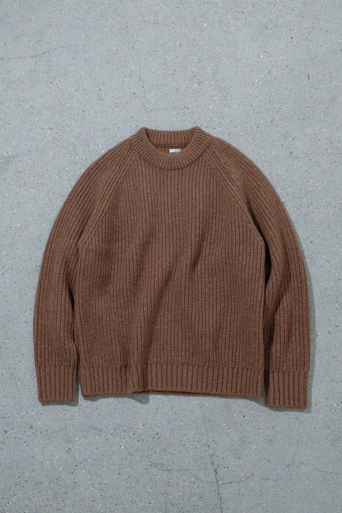 A.PRESSE / Fisherman Pullover Sweater