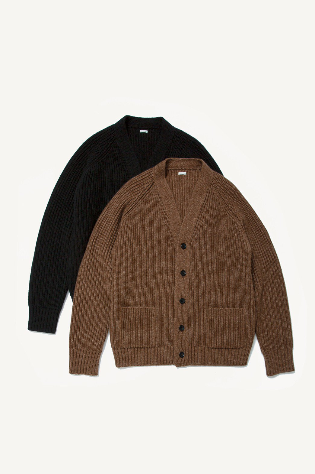 A.PRESSE / Fisherman Cardigan Sweater