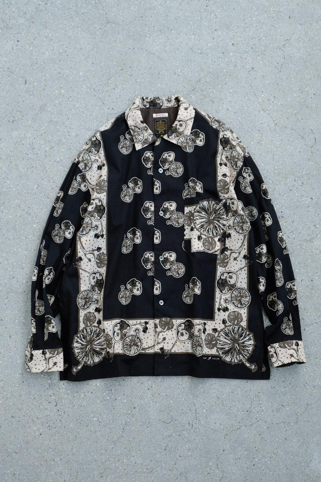 One Ear Brand / Gypsy & Sons Bandanna Shirt BLACK