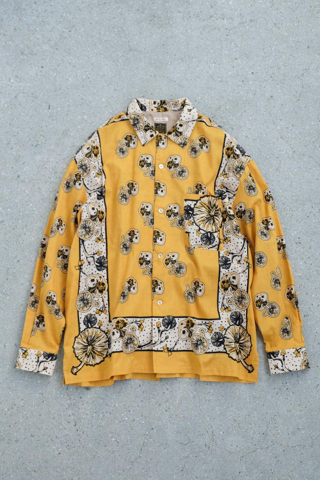 One Ear Brand / Gypsy & Sons Bandanna Shirt GOLD