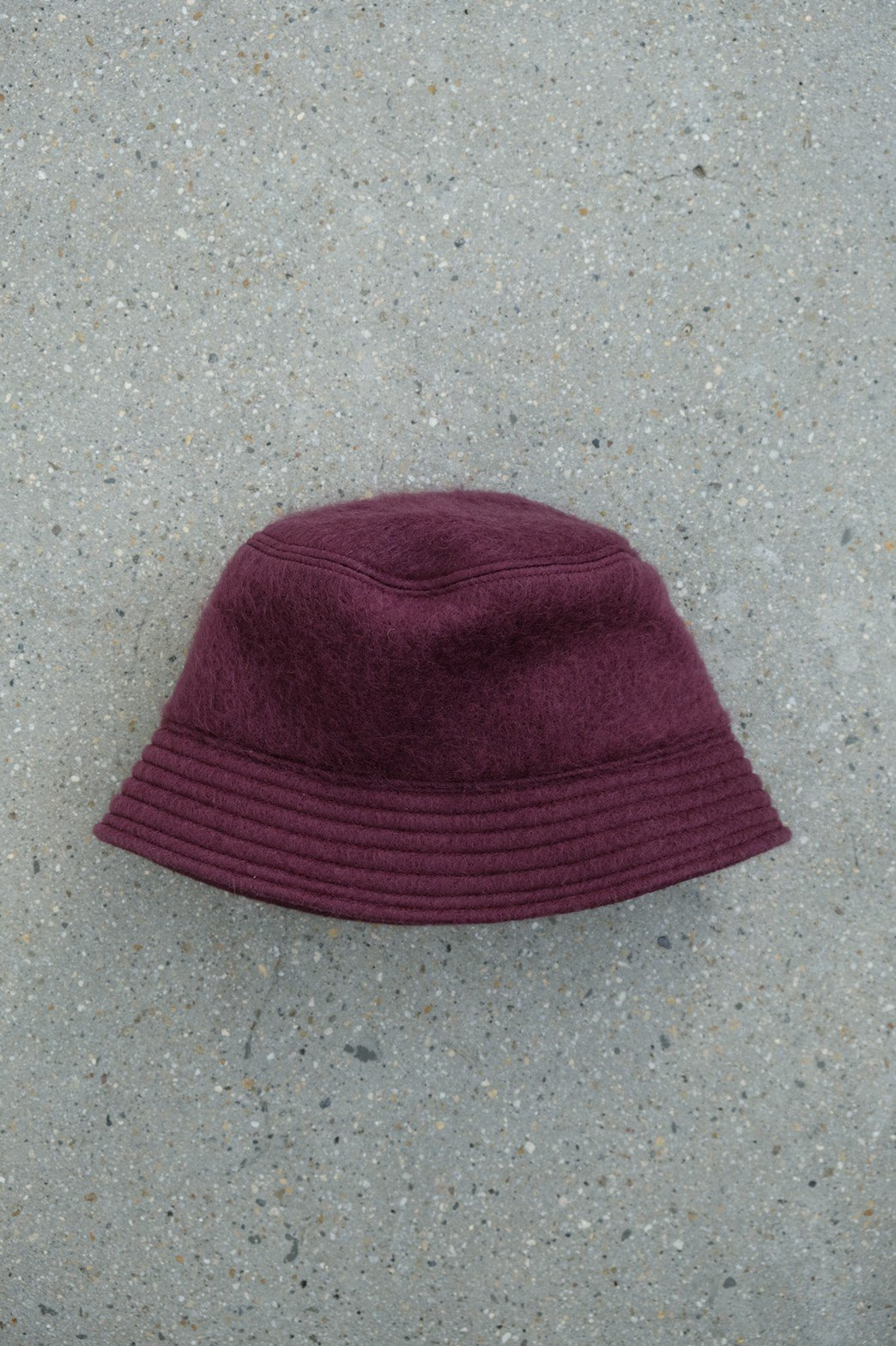 whowhat / MOHAIR BUCKET HAT