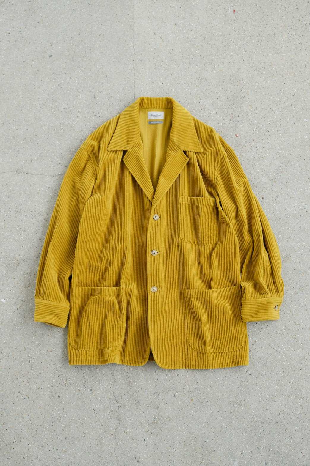 Marvine Pontiak Shirt Makers / 3 Button Shirt Jacket