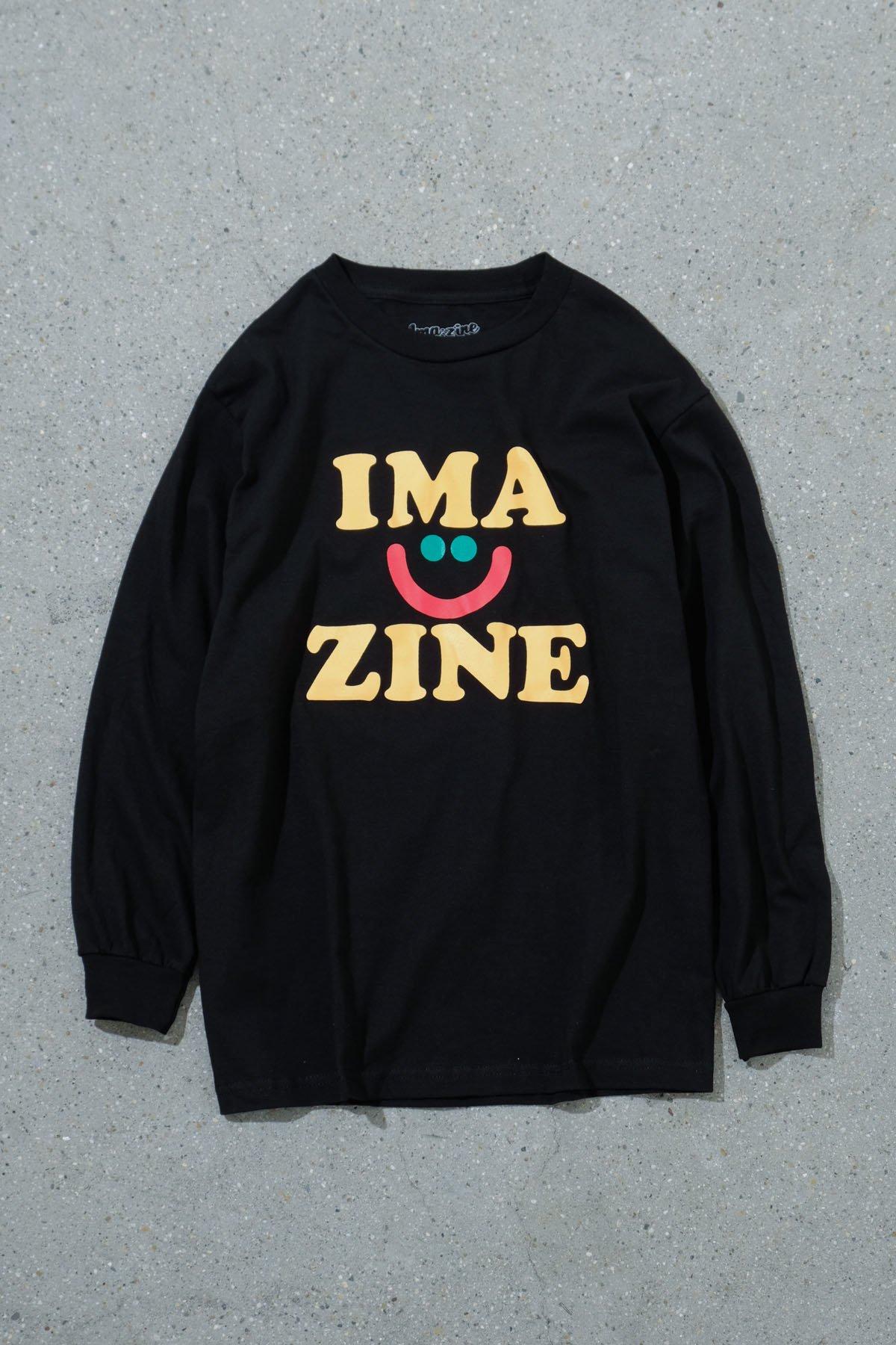 aimi odawara x IMA:ZINE / LONG SLEEVE TEE