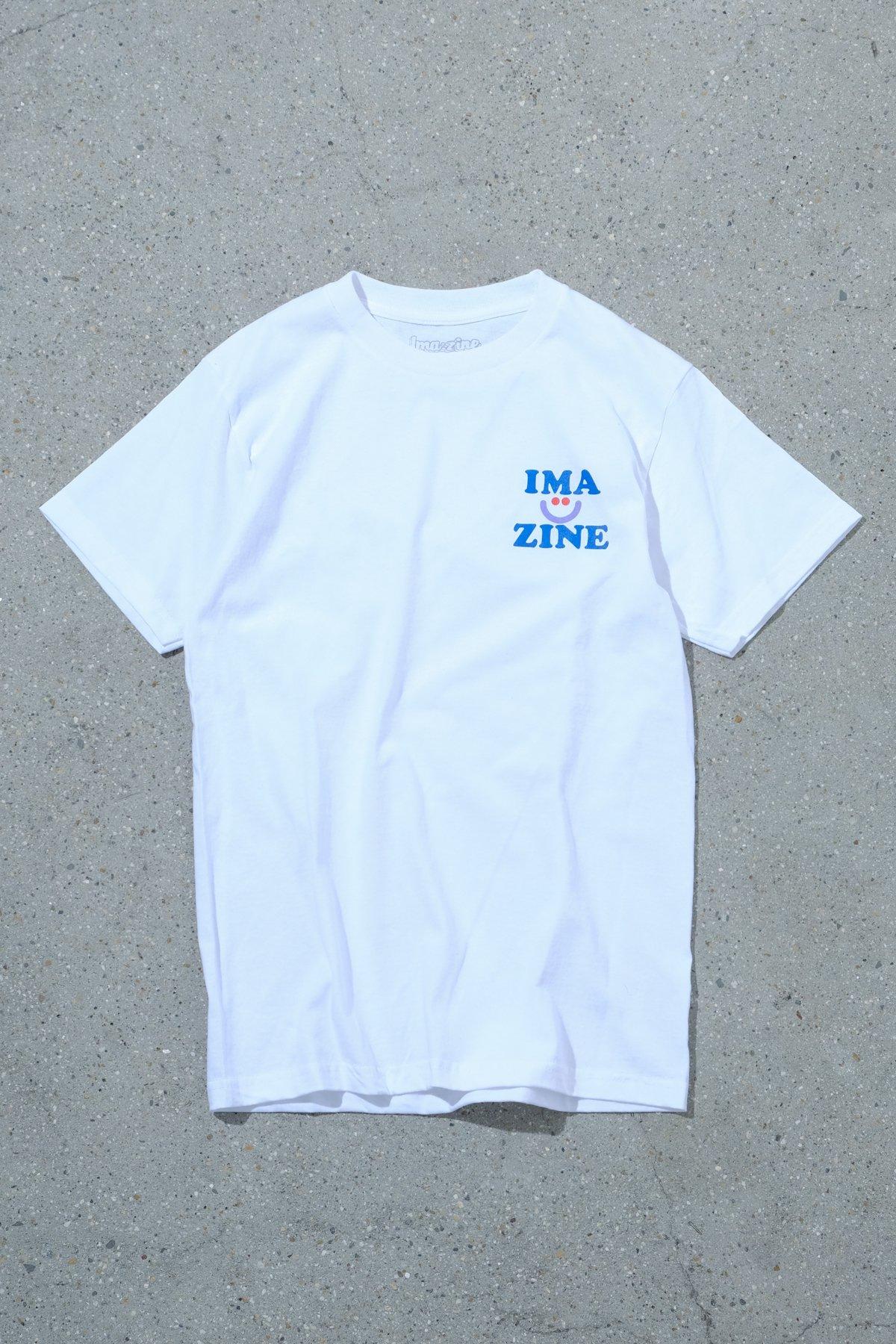aimi odawara x IMA:ZINE / LOGO TEE