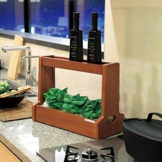 LED水耕栽培キット Akarina06 / アカリーナで 野菜栽培!! 家庭菜園 プランター インテリアグリーン タネスポンジ液体肥料