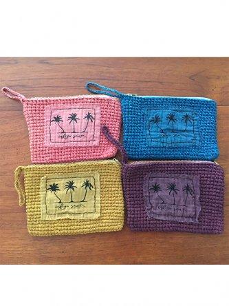 Cotton Crochet Porch インディゴブルー/マンゴー/ピンク/パープル