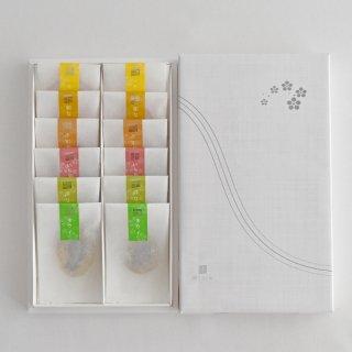 弔事用・セミドライフルーツ6種ギフトBOX【国産フルーツ使用】12袋入