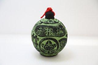 手作り土鈴 彦根城(御紋土鈴)
