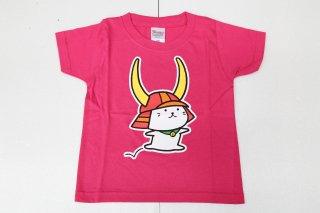 【限定】ひこにゃん ジュニアTシャツ ホットピンク