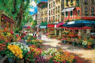パリのフラワーマーケット