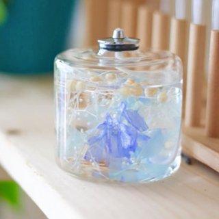FLOWERiUM®︎ candle lamp blue