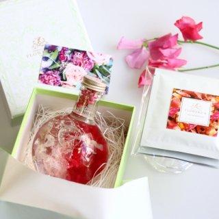 Gift set<carnation parfum & organic herb tea>