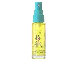 ポンプ式瓶(50ml)三原椿油