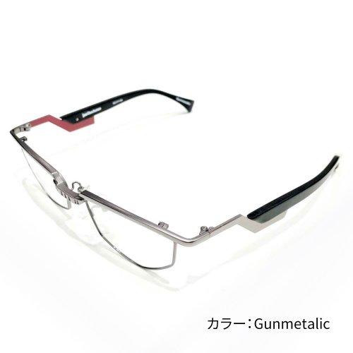 less than human レスザンヒューマン マジンガーZ 限定コラボ col.silver、Gunmetalic メガネフレーム