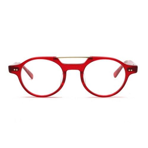 <p>BOSTON CLUB (ボストンクラブ)</p><p>TREVOR(トレバー)</p><p>col.03(clear red) 46□21  147</p>