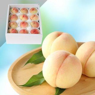 【特級】岡山白桃 11〜12玉 約3キロ