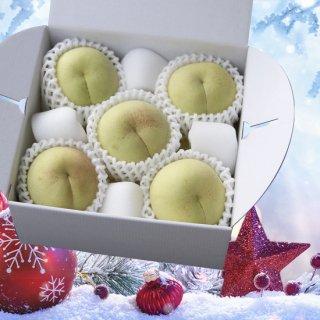 【ご家庭用】冬桃がたり 小玉 5〜6玉