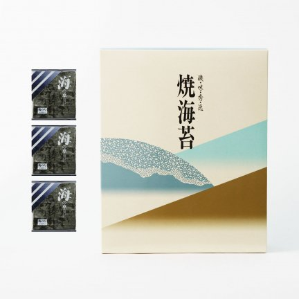 【新物】焼海苔(上)3帖箱入