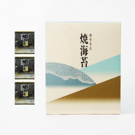 【新物】焼海苔(特上)3帖箱入