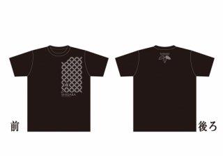 たすきTシャツ ディープブラック