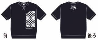 【値下げしました】たすきスウェットTシャツ ネイビー