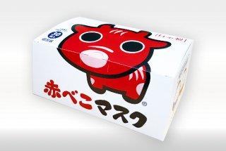 【福島県内にて製造!】《使い捨て不織布》赤べこマスク30枚入り
