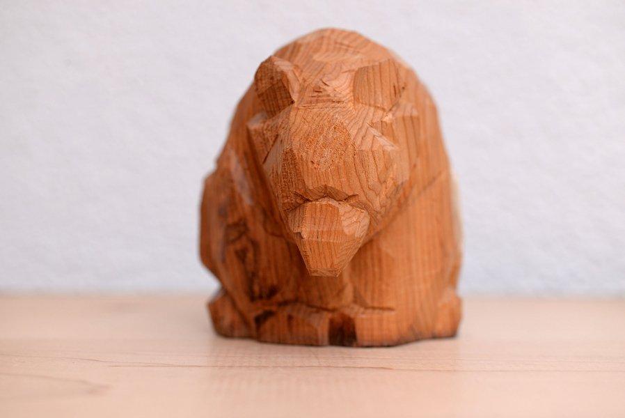 這熊 木彫り熊 北海道