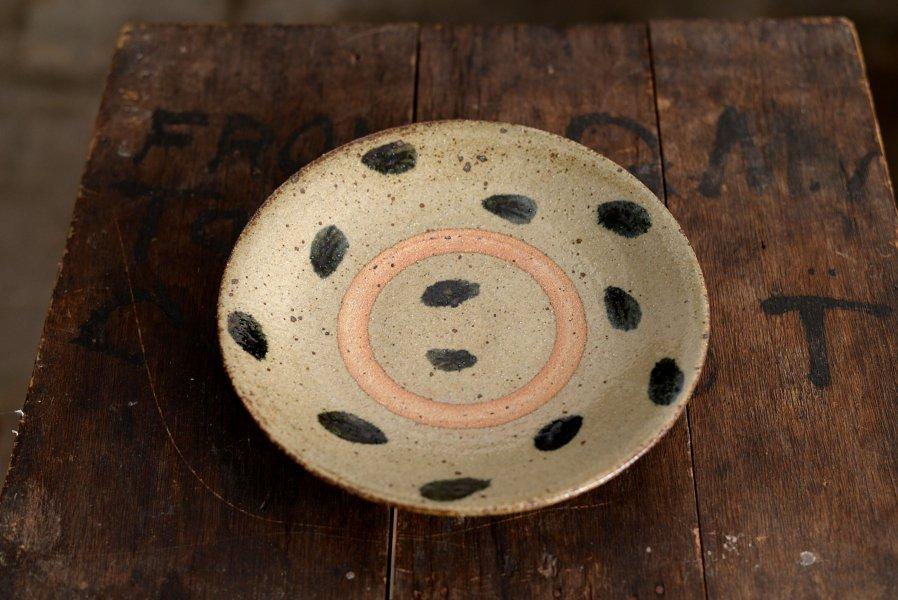 ソロソロ窯  7寸皿
