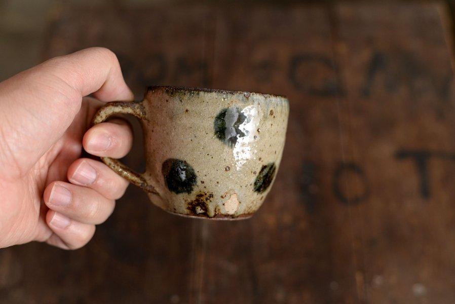 ソロソロ窯 樽型マグカップ