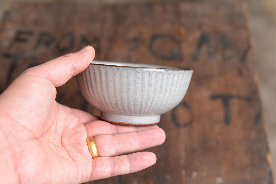 カミナリ窯 4寸碗